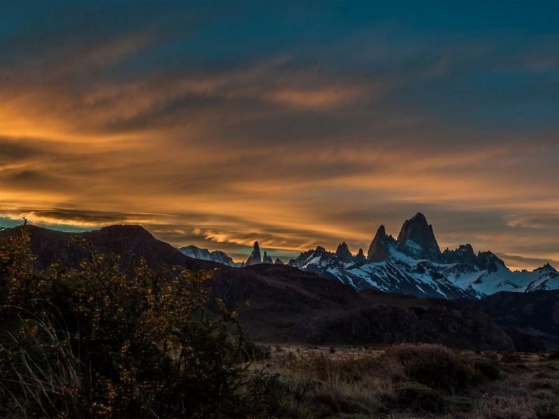 fitz roy mountain range