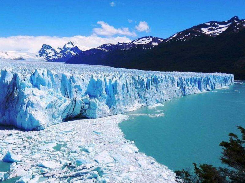 glaciar moreno